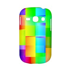 Colorful gradient shapes Samsung Galaxy S6810 Hardshell Case