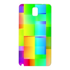 Colorful Gradient Shapes Samsung Galaxy Note 3 N9005 Hardshell Back Case