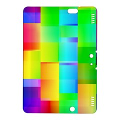 Colorful gradient shapes Kindle Fire HDX 8.9  Hardshell Case