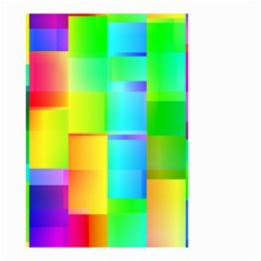 Colorful Gradient Shapes Small Garden Flag