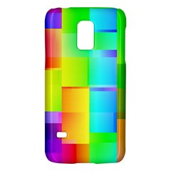 Colorful Gradient Shapes Samsung Galaxy S5 Mini Hardshell Case