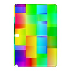 Colorful gradient shapes Samsung Galaxy Tab Pro 10.1 Hardshell Case