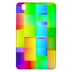 Colorful Gradient Shapes 	samsung Galaxy Tab Pro 8 4 Hardshell Case