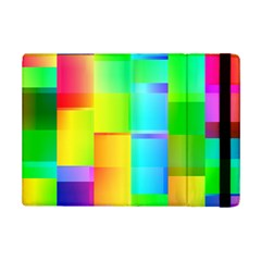 Colorful Gradient Shapes 	apple Ipad Mini 2 Flip Case