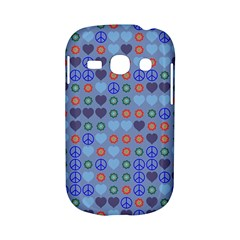 Peace and love Samsung Galaxy S6810 Hardshell Case