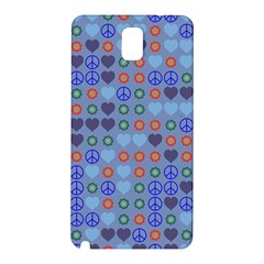 Peace And Love Samsung Galaxy Note 3 N9005 Hardshell Back Case