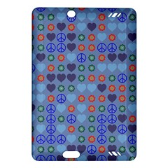 Peace and love Kindle Fire HD (2013) Hardshell Case
