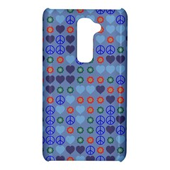 Peace and love LG G2 Hardshell Case