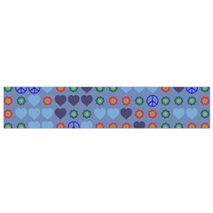 Peace And Loveflano Scarf