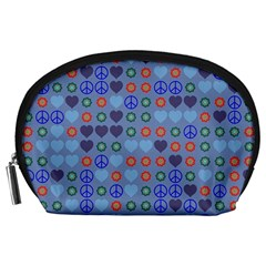 Peace and loveAccessory Pouch