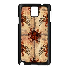 Here There Be Monsters Talking Board Samsung Galaxy Note 3 N9005 Case (Black)