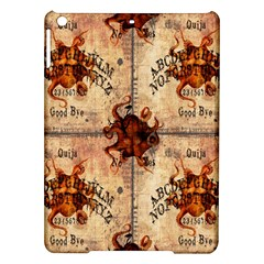 Here There Be Monsters Talking Board Apple iPad Air Hardshell Case