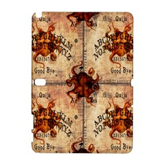Here There Be Monsters Talking Board Samsung Galaxy Note 10.1 (P600) Hardshell Case