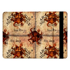 Here There Be Monsters Talking Board Samsung Galaxy Tab Pro 12.2  Flip Case