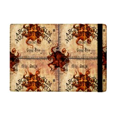 Here There Be Monsters Talking Board Apple iPad Mini 2 Flip Case