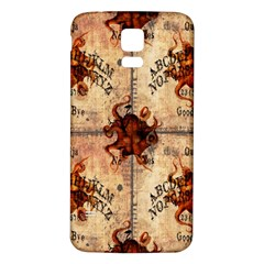 Here There Be Monsters Talking Board Samsung Galaxy S5 Back Case (White)
