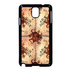 Here There Be Monsters Talking Board Samsung Galaxy Note 3 Neo Hardshell Case (Black)