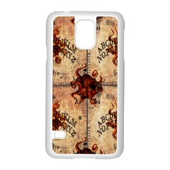 Here There Be Monsters Talking Board Samsung Galaxy S5 Case (White)