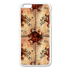 Here There Be Monsters Talking Board Apple iPhone 6 Plus Enamel White Case