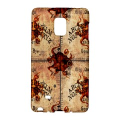 Here There Be Monsters Talking Board Samsung Galaxy Note Edge Hardshell Case