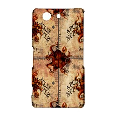 Here There Be Monsters Talking Board Sony Xperia Z3 Compact Hardshell Case