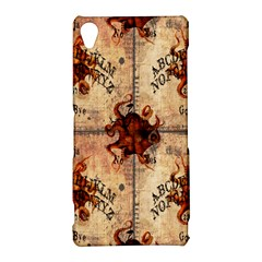 Here There Be Monsters Talking Board Sony Xperia Z3 Hardshell Case