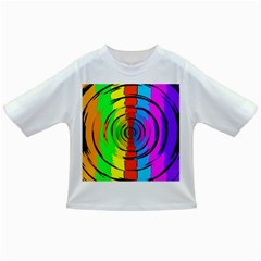 Rainbow Test Pattern Baby T-shirt