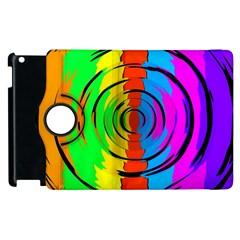 Rainbow Test Pattern Apple Ipad 3/4 Flip 360 Case