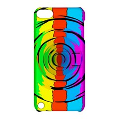 Rainbow Test Pattern Apple Ipod Touch 5 Hardshell Case With Stand