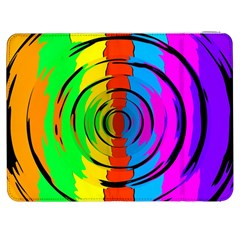Rainbow Test Pattern Samsung Galaxy Tab 7  P1000 Flip Case