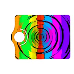 Rainbow Test Pattern Kindle Fire HD (2013) Flip 360 Case