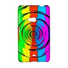 Rainbow Test Pattern Nokia Lumia 625 Hardshell Case