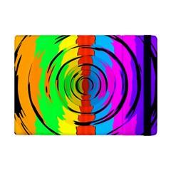 Rainbow Test Pattern Apple iPad Mini 2 Flip Case