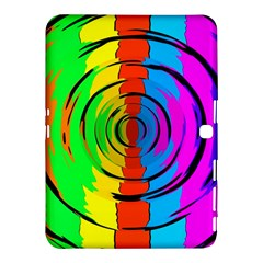 Rainbow Test Pattern Samsung Galaxy Tab 4 (10.1 ) Hardshell Case
