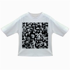 Background Noise In Black & White Baby T-shirt