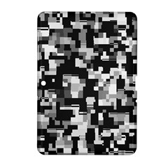 Background Noise In Black & White Samsung Galaxy Tab 2 (10.1 ) P5100 Hardshell Case