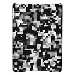 Background Noise In Black & White Apple iPad Air Hardshell Case