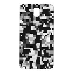 Background Noise In Black & White Samsung Galaxy Note 3 N9005 Hardshell Back Case