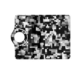 Background Noise In Black & White Kindle Fire HD (2013) Flip 360 Case