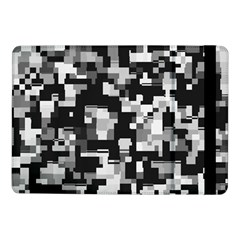 Background Noise In Black & White Samsung Galaxy Tab Pro 10 1  Flip Case