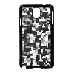 Background Noise In Black & White Samsung Galaxy Note 3 Neo Hardshell Case (black)