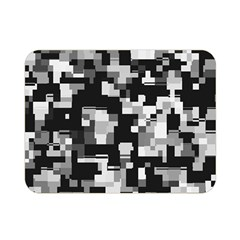 Background Noise In Black & White Double Sided Flano Blanket (Mini)