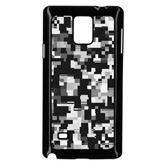 Background Noise In Black & White Samsung Galaxy Note 4 Case (black)