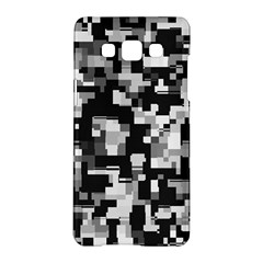 Background Noise In Black & White Samsung Galaxy A5 Hardshell Case