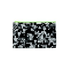 Background Noise In Black & White Cosmetic Bag (xs)