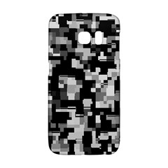 Background Noise In Black & White Samsung Galaxy S6 Edge Hardshell Case
