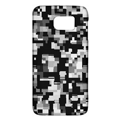 Background Noise In Black & White Samsung Galaxy S6 Hardshell Case