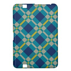 Squares And Stripes Pattern Kindle Fire Hd 8 9  Hardshell Case