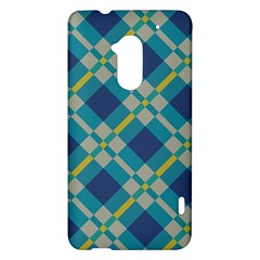 Squares and stripes pattern HTC One Max (T6) Hardshell Case