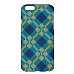 Squares and stripes pattern	Apple iPhone 6 Plus Hardshell Case